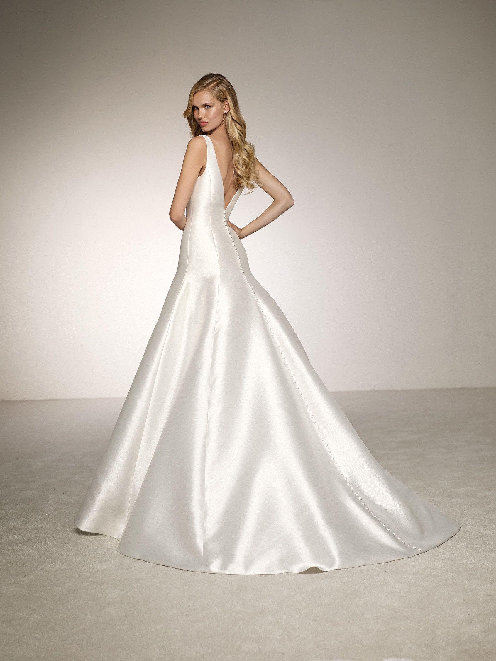 Vestidos de novia de falda
