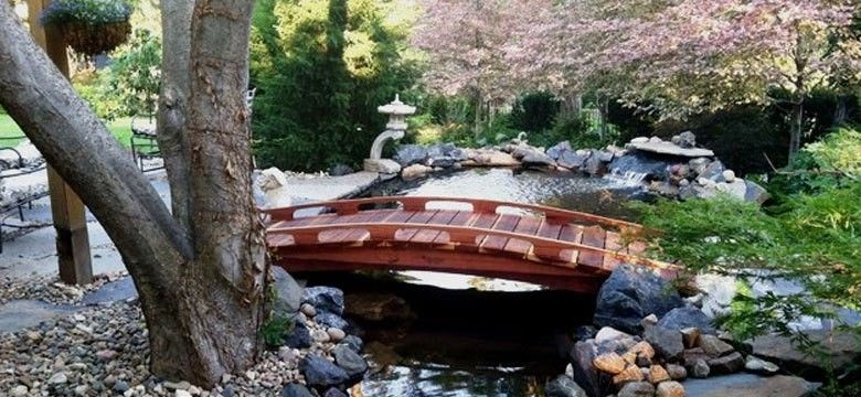 Redwood Garden Bridges Japanese, Redwood Garden Bridges