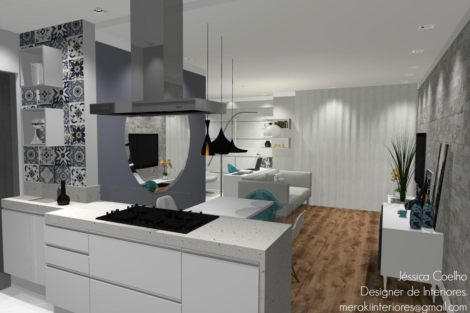 Cozinha Ladrilho Espaço Gourmet. #cozinha #cozinhaplanejada #ladrilhohidráulico #azulejoportuguês #decoração #merakiinteriores #interiores #design #projeto #designerdeinteriores #projetoonline #dmarco #fabricadmarco #dmarcolarcenter #larcenter #projetar #móveisplanejados.