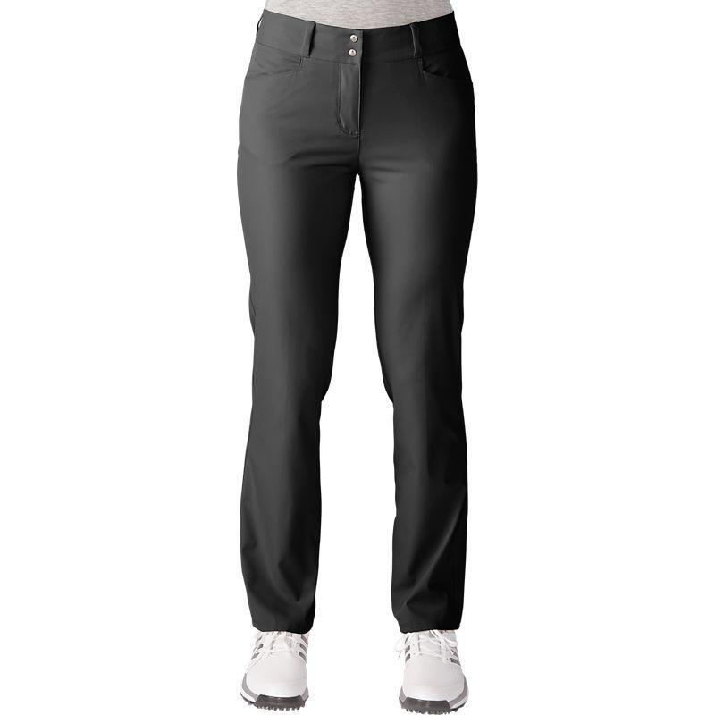 adidas Women's Essentials Lightweight Full Length Golf Pants, Size: 12,  Black