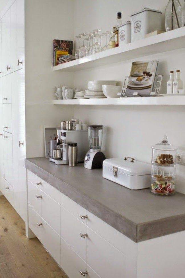 Uitzonderlijk Interieur inspiratie| een keuken zonder bovenkasten | keuken in @IA01