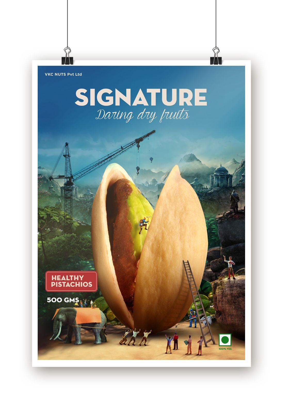 Dry Fruits - Packaging on Behance | IV Logo Inspiration | Pinterest ...