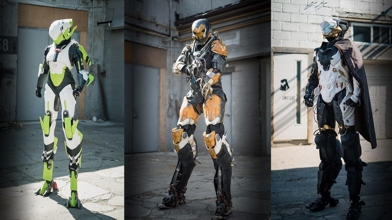 Anthem Javelin Real Life Suits The Storm The Ranger And The Interceptor Anthem Cosplay Cosplay Costumes