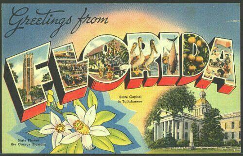 postcards Vintage state
