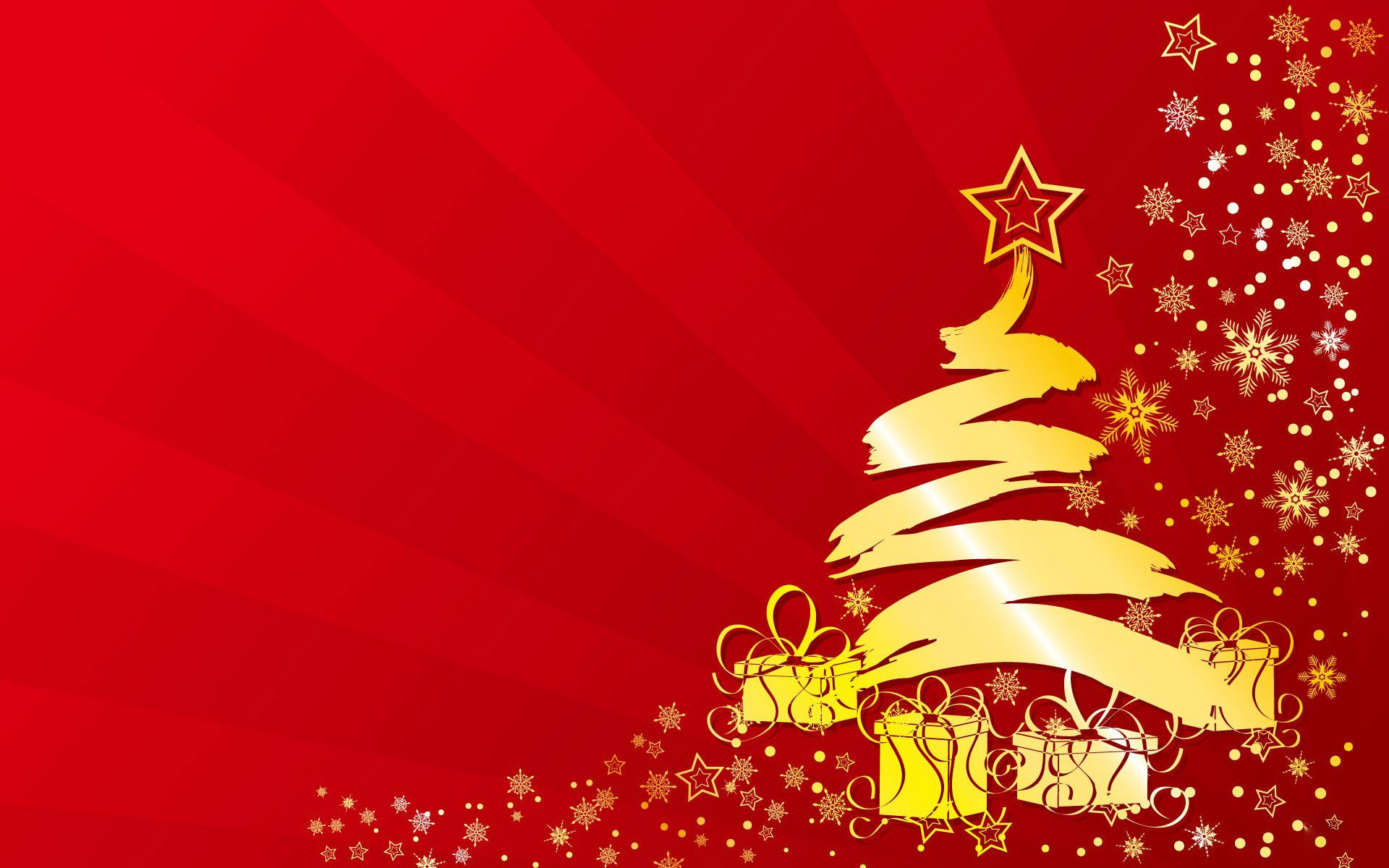 Christmas Tree Clipart red christmas tree background hd