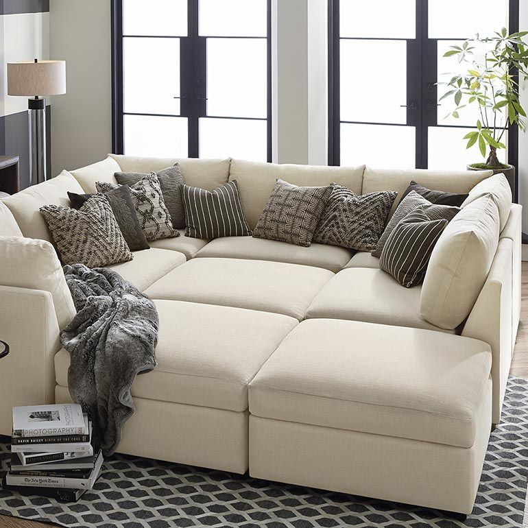 Beckham U-Shaped Sectional : l shaped sectional - Sectionals, Sofas & Couches