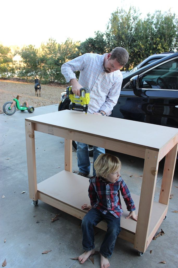 Easy Diy Portable Workbench Plans Step 3