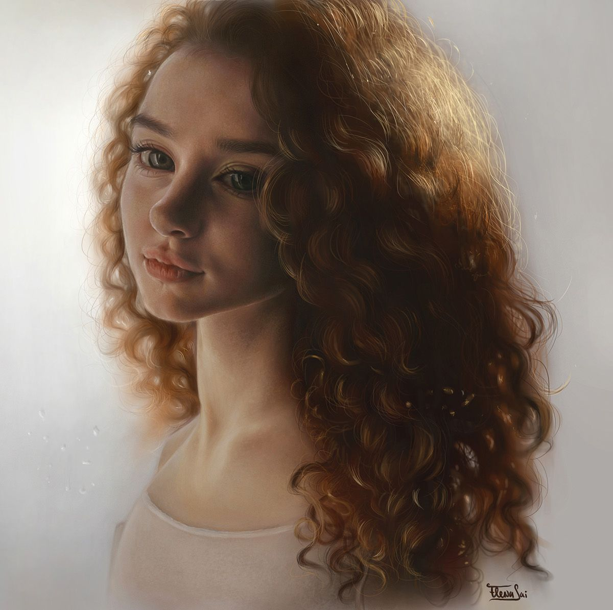Curly - By Elena Sai