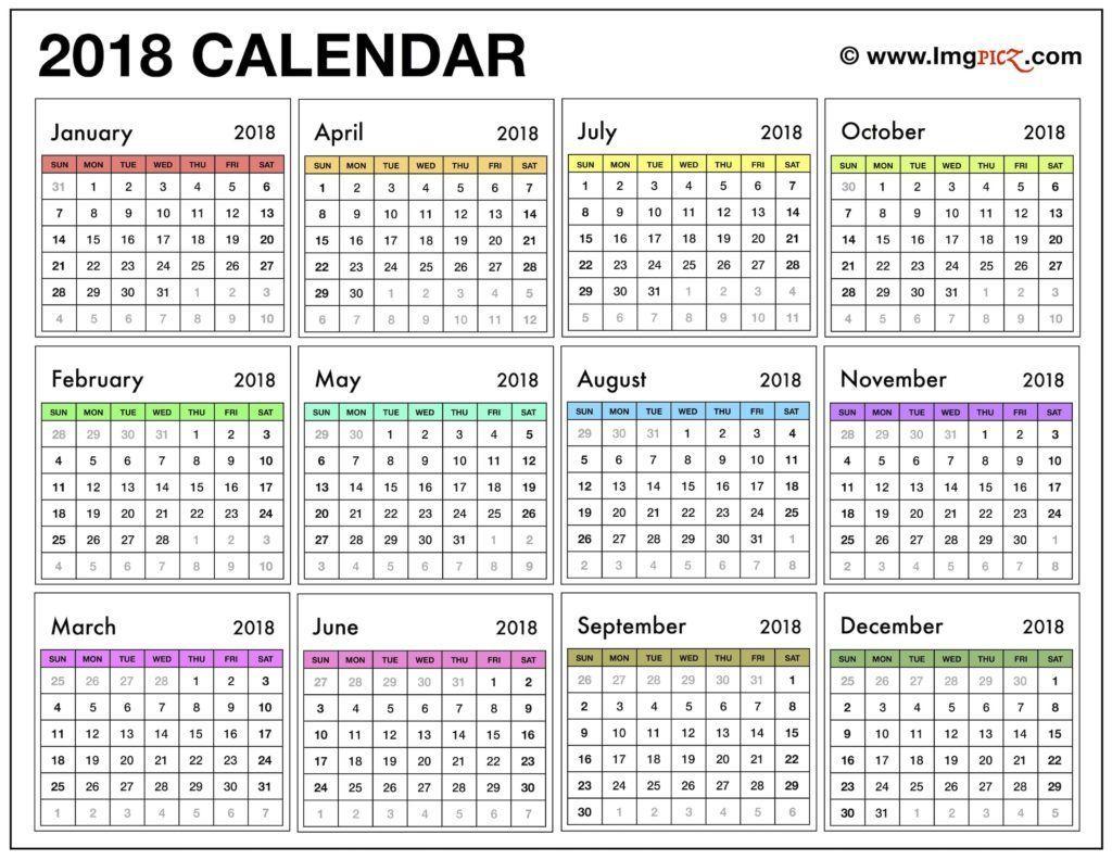 2018 Calendar Pdf India November Calendar Calendar 2018 2018