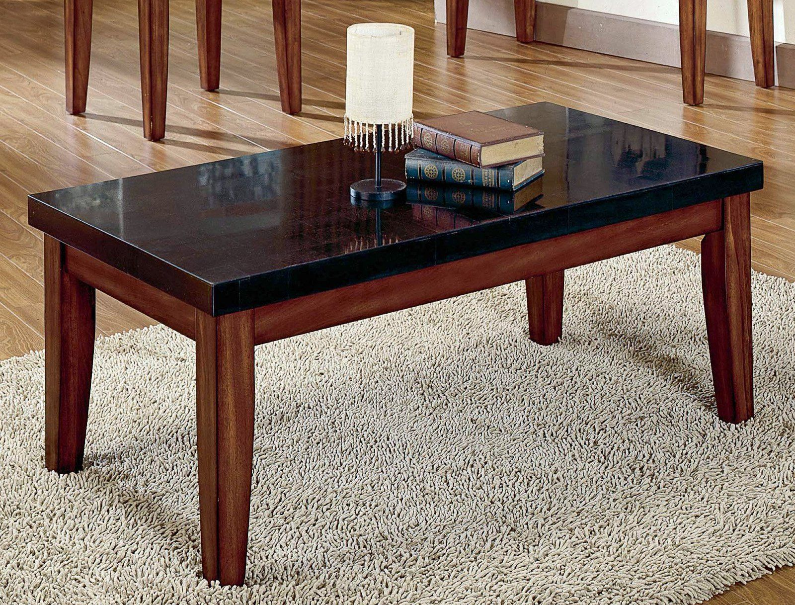 Black Granite Coffee Table For the Home Pinterest