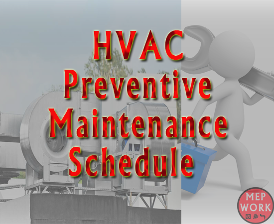 Hvac Preventive Maintenance Schedules And Checklists Pdf