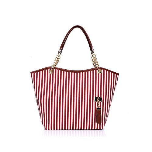 Biachieveway CLSS021 White Women's Handbag Backbag
