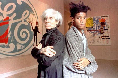 voxsart: 1985.Warhol and Basquiat.