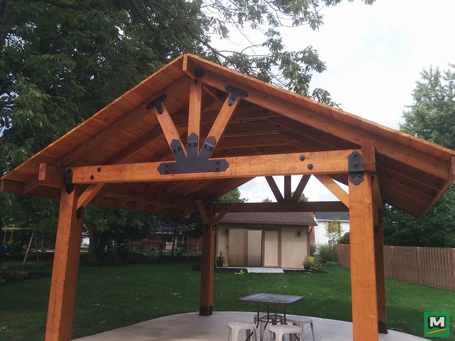 Produce your very own pavilion with the Laredo Sunset ...
