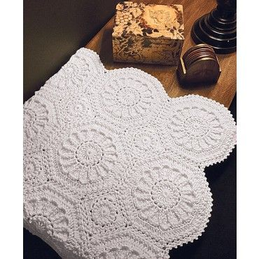 Cognac Matelasse Afghan | Crochet Things | Crochet bedspread pattern