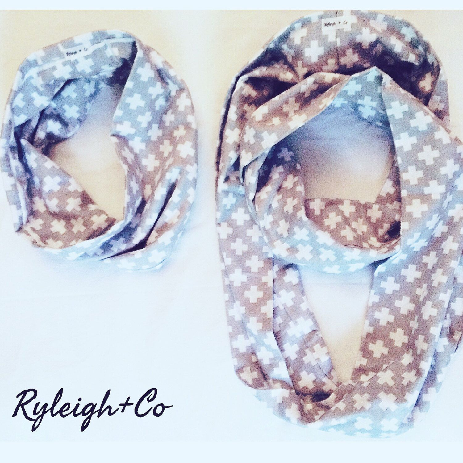Mommy + Me Infinity Scarf Set by RyleighxCo on Etsy https://www.etsy.com/listing/285458105/mommy-me-infinity-scarf-set