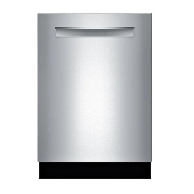 Bosch 800 Series Crystaldry 40 Decibel Top Control 24 In Built In Dishwasher Stainless Steel Energy Star Lowes Com In 2020 Built In Dishwasher Top Control Dishwasher Steel Tub