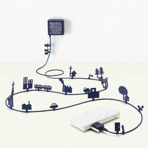 LOVE THIS!  AC Adapter by Ken Nozomi Miyatake