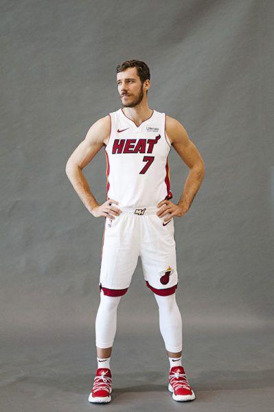 9214a50f8607 Goran Dragic - Miami Heat Media day