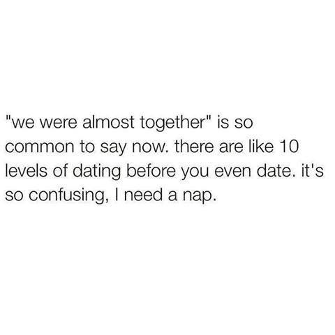 Tired of games dating