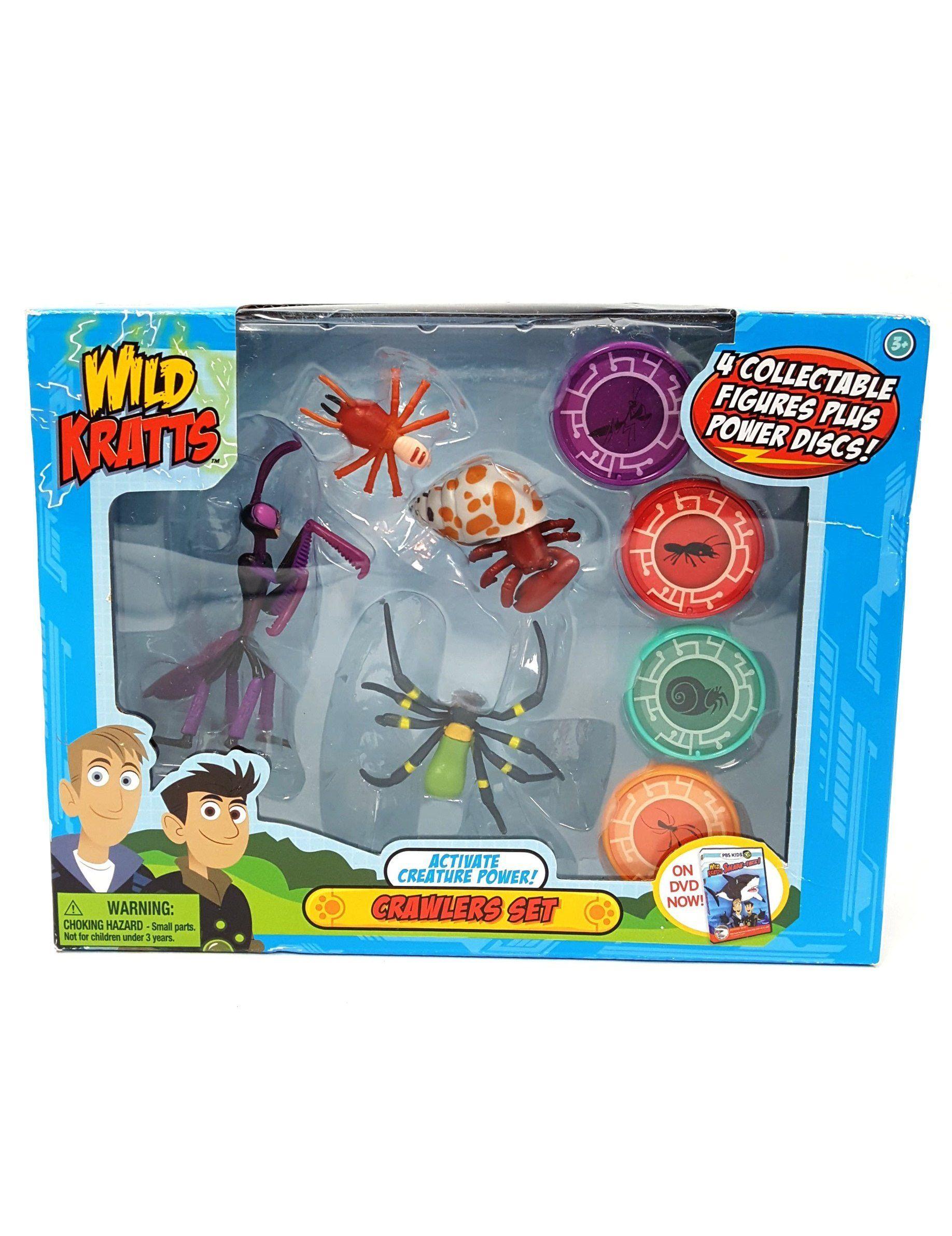 Elephant Wild Kratts Toys 2 Pack Creature Power Action Figure Set