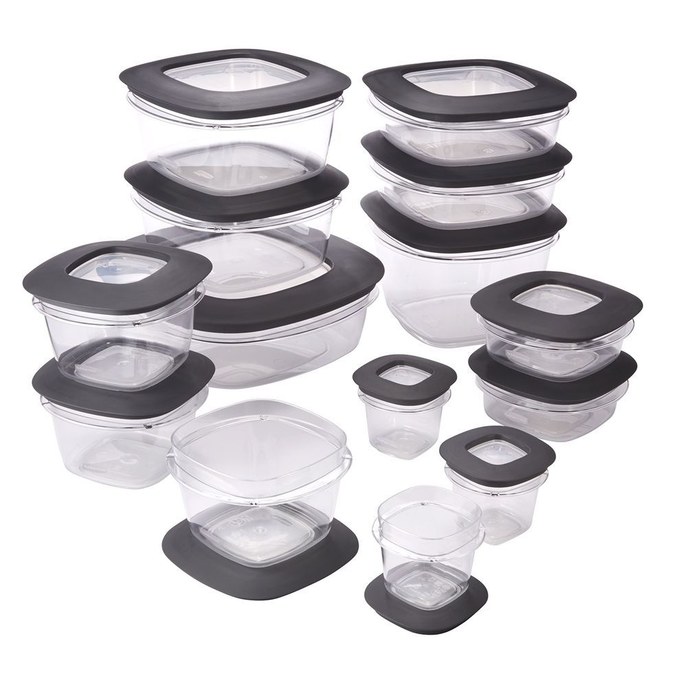 Rubbermaid Premier Easy Find Lids 28 Piece Food Storage Container