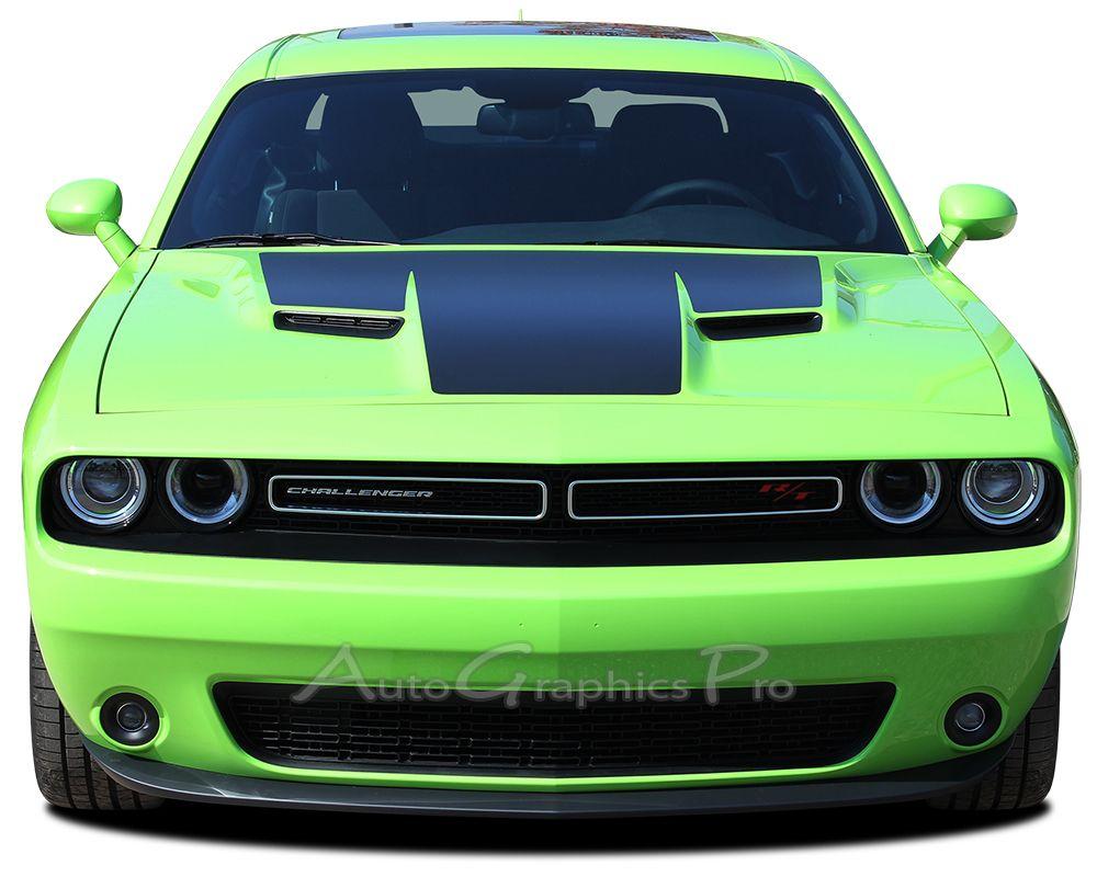 2015 dodge challenger hood mopar oem style vinyl graphics stripe decals