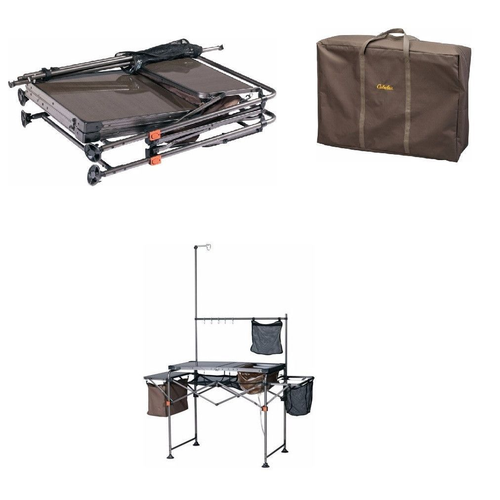 Small Portable Complete Camp Camping Kitchen Sink Table Supplies W Carrying Case Camp Kitchen Outdoor Appliances Portable Kitchen