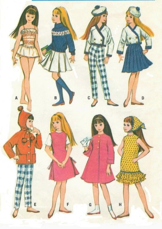 Free Vintage Barbie Sewing Patterns - Yahoo Image Search Results ...