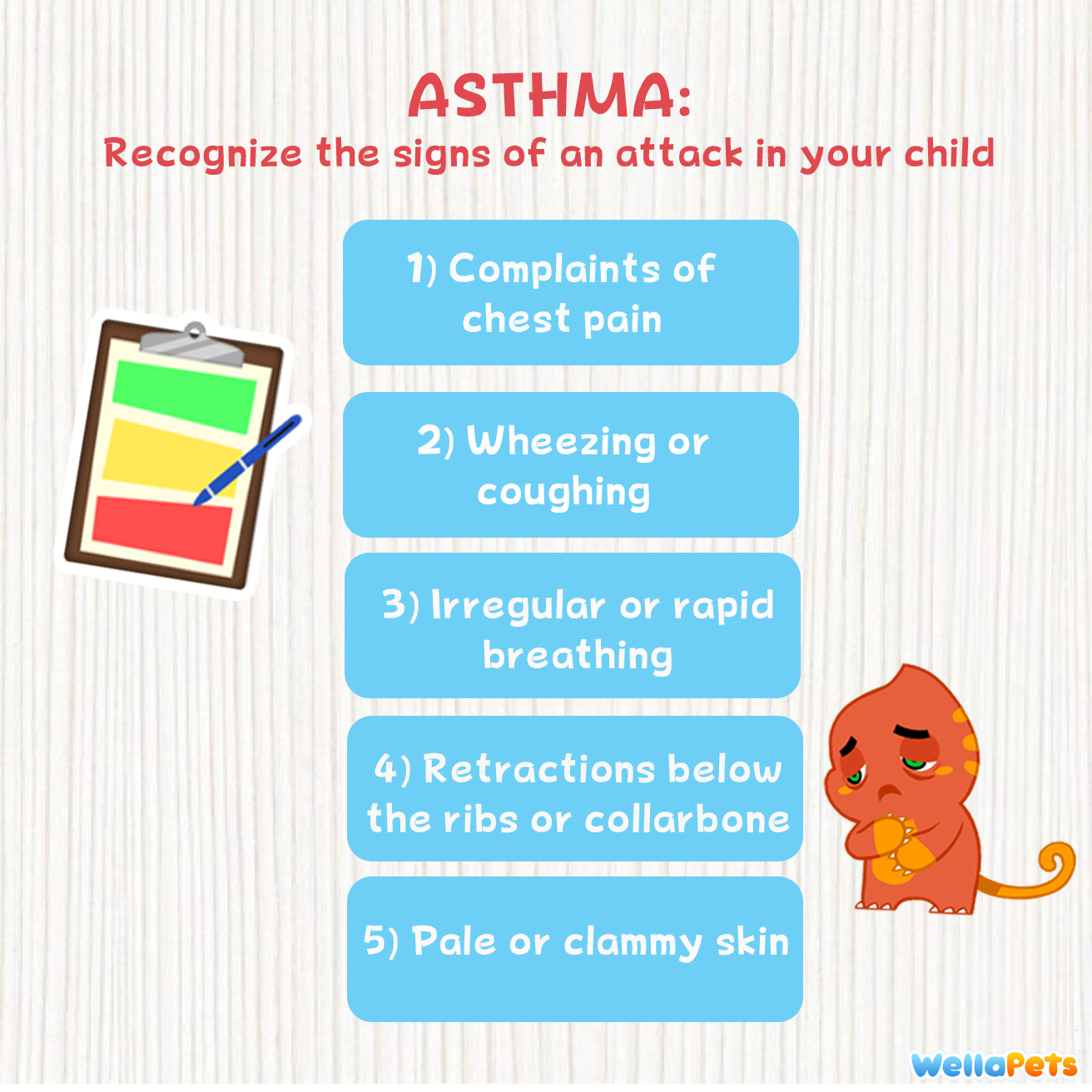 Recognize When Your Child Is Having An Asthma Attack With These Critical Signs Stay Wellwithwella Asthmaawareness