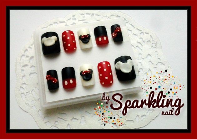 Mickey Minnie Mouse Nail By Winny Nail Art Gallery Nails With