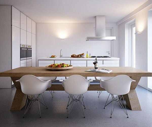 13 Dining Room And Kitchen Design Minimalist: Minimalist Home Captivates With Sleek Design And Ergonomic