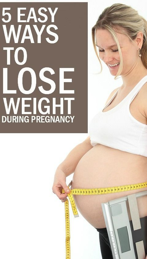 I why lost while have pregnant weight