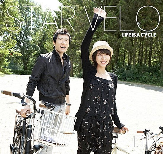 Ha Ji Won and Kim Myung Min in Elle Korea October 2009 ...