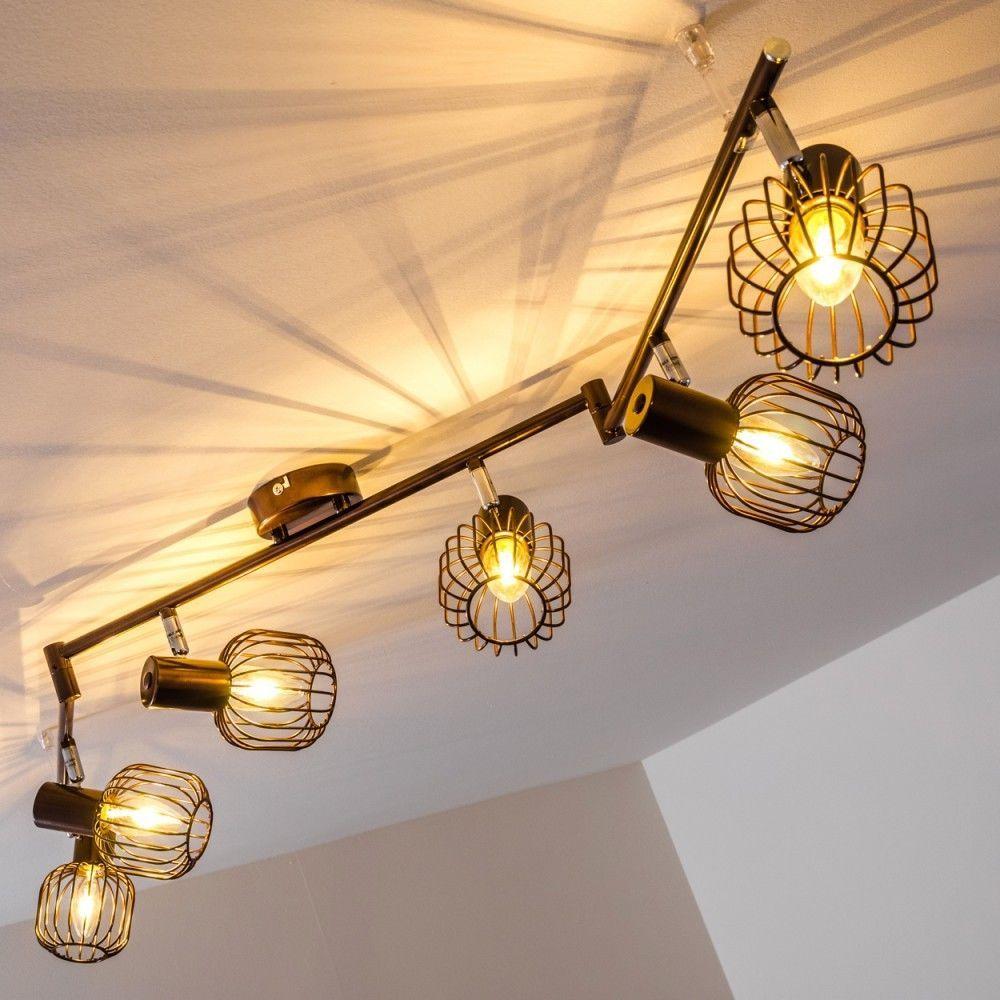 küchen strahler design deckenlampe vintage wohn zimmer