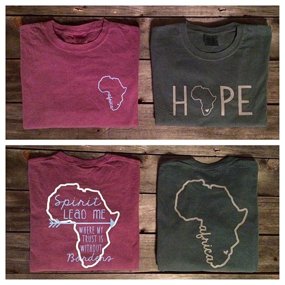 Comfort Colors Africa Short Sleeve T-Shirt by CottonThreadsShirtCO