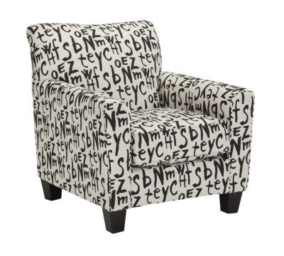 Ashley Brindon Script Accent Chair Homemakers Furniture In 2020
