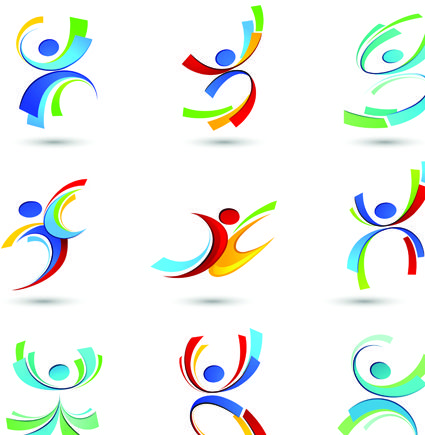 Sport elements logo and icon vector 05 - Sport Icons free download ...