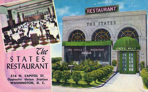 The States Restaurant With Images Washington Dc Union Station States