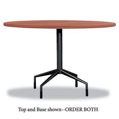 Safco Rsvp 42 Inch X 42 Inch X 1 Inch Round Table Top Cherry