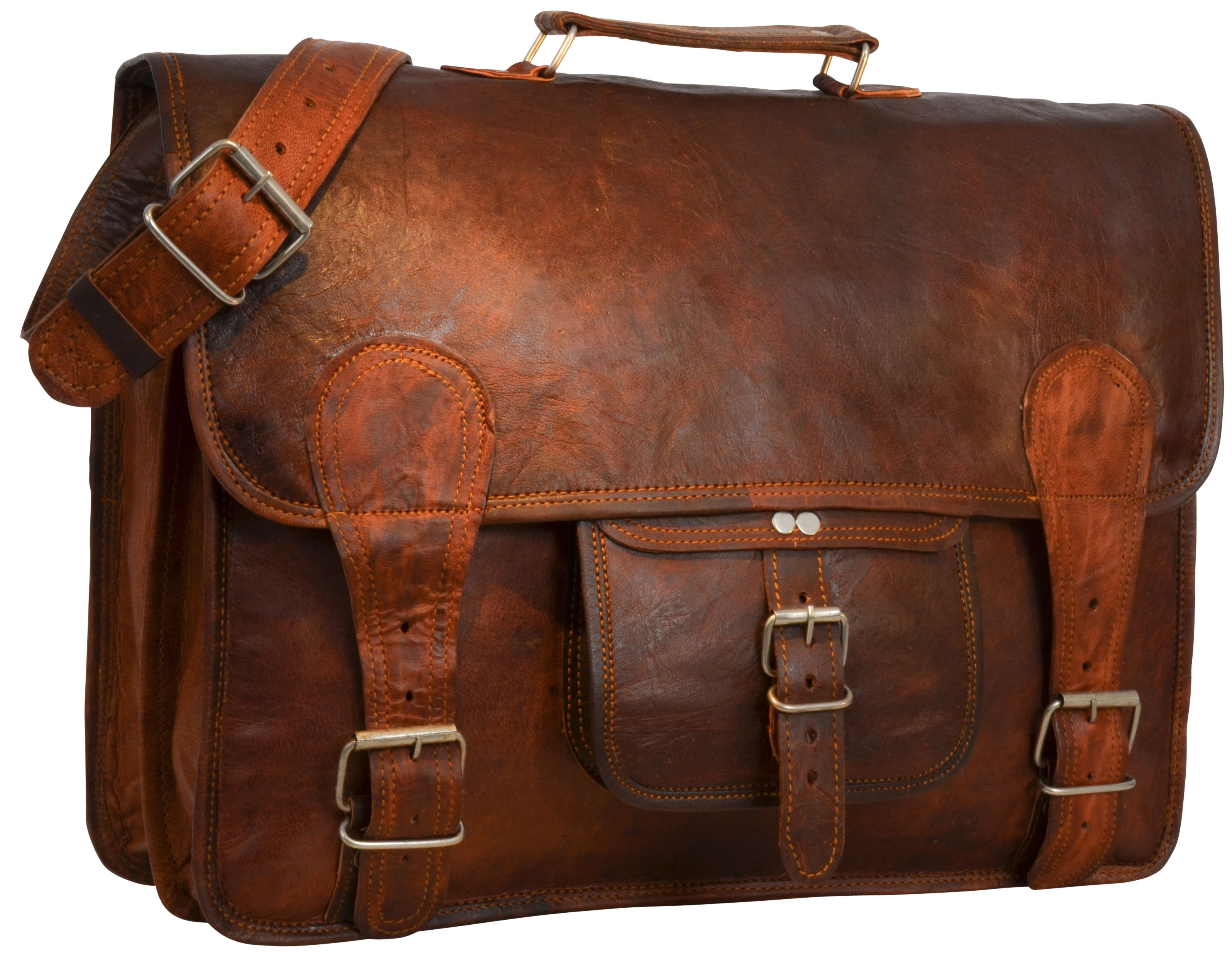 A Real Leather Vintage Style Satchel Bag Finlay Can Be The Perfect Companion For Your Day Gusti Leather U31 Vintage Leather Bag Satchel Satchel Bags
