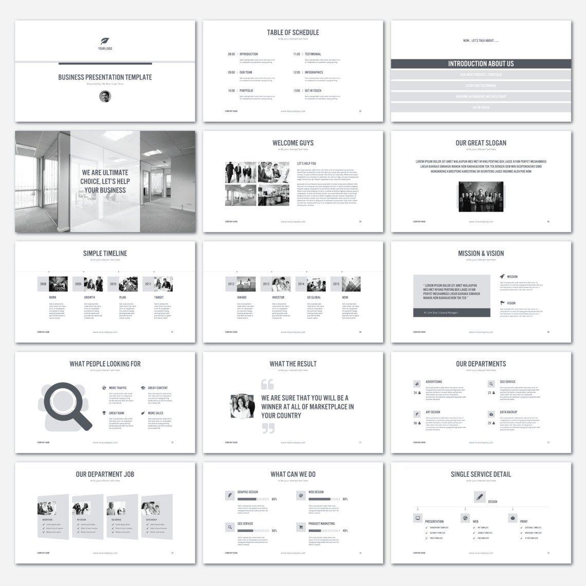 Perfect KEYNOTE Template Etsy 프레젠테이션 레이아웃, 발표 디자인