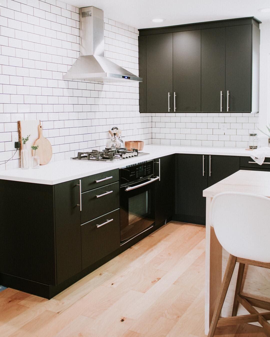 Cucina Ikea Metod Kungsbacka Seriously In Love With Our Black Ikea Kitchen Cabinets Major
