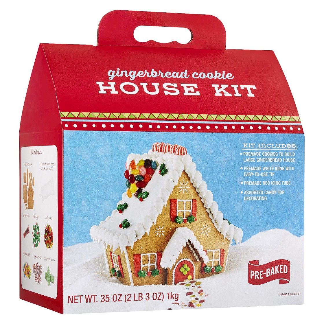 Premade Gingerbread Houses Gingerbread House Kit Christmas Pinterest Gingerbread Houses
