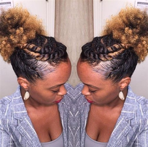 30+ Quick & Easy Natural Hairstyles - Curly Girl Swag
