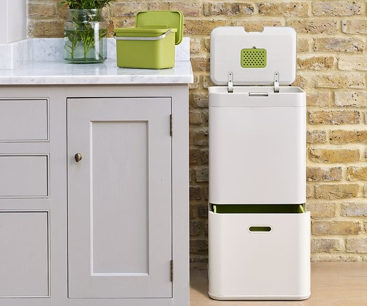 Totem Intelligent Waste Makes Sorting Your Kitchen Garbage Recycling Binsrecycling