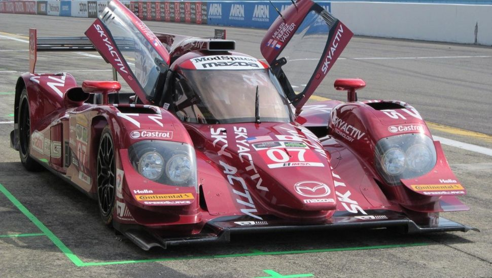 Mazda Skyactiv diesel prototype at Watkins Glen International