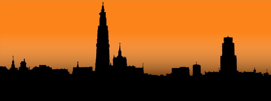 Skyline Antwerp Antwerpen Skyline Afbeeldingen