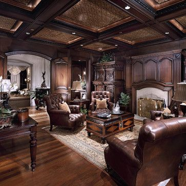 Home Office Photos Old World Tuscan Design Pictures Remodel