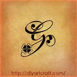 Lettere Tattoo 9 Singole A F G J K L S T V G Tattoo